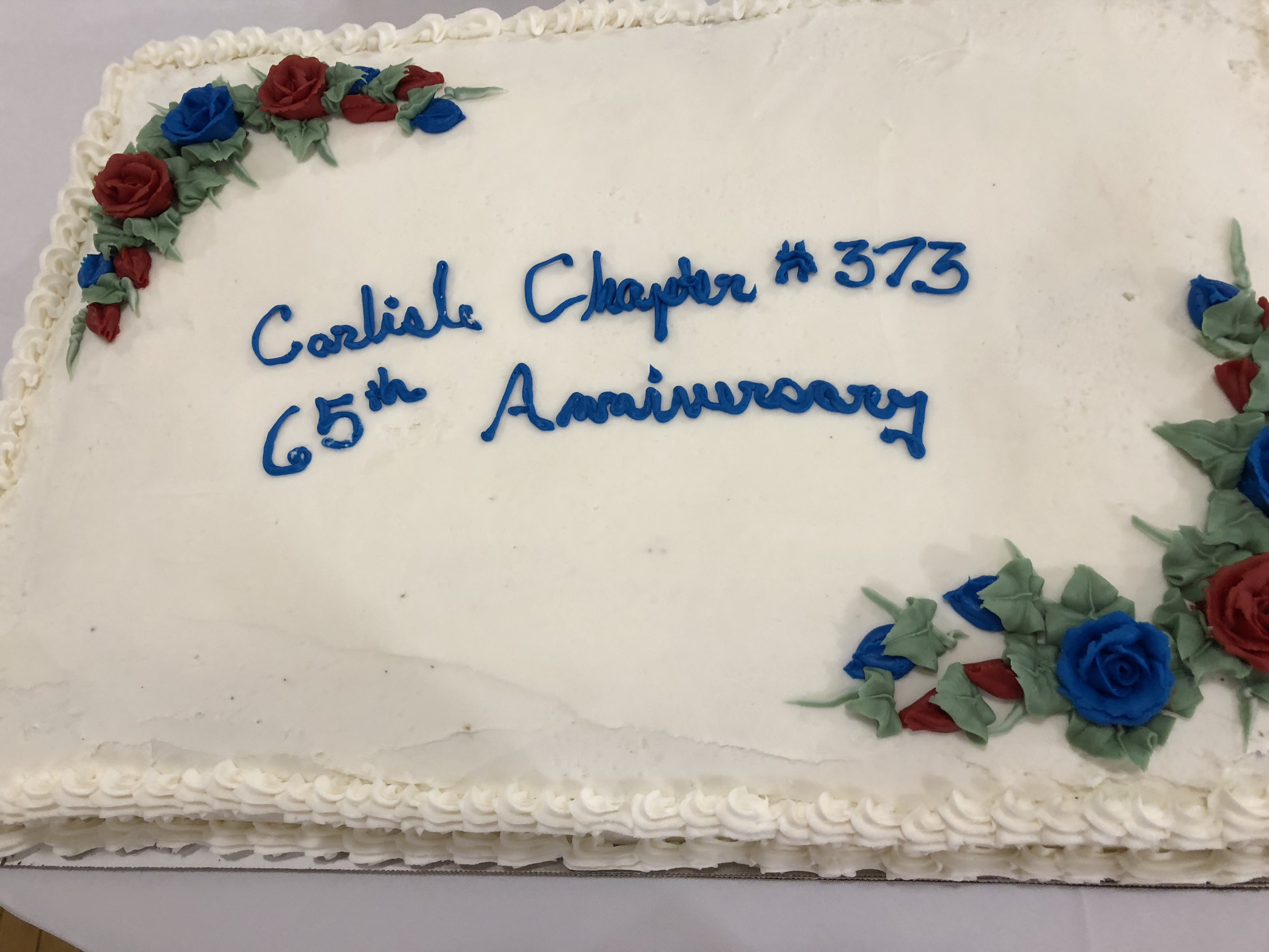 Carlisle 65 Cake