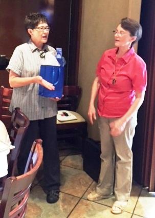 Christene Rhodes and Ann Alonzo NARFE SPEAKER