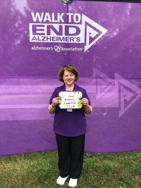 Joan C. --- Walk for Alzheimer's