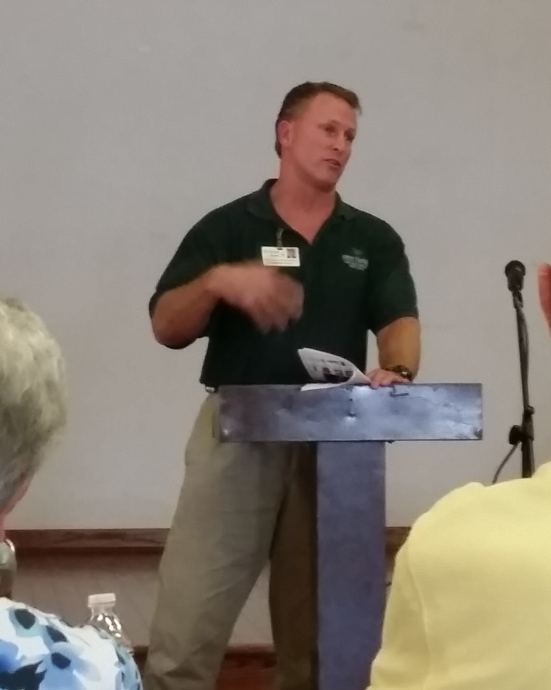 Nov Speaker Darren Schubeck from NW FL Rehab