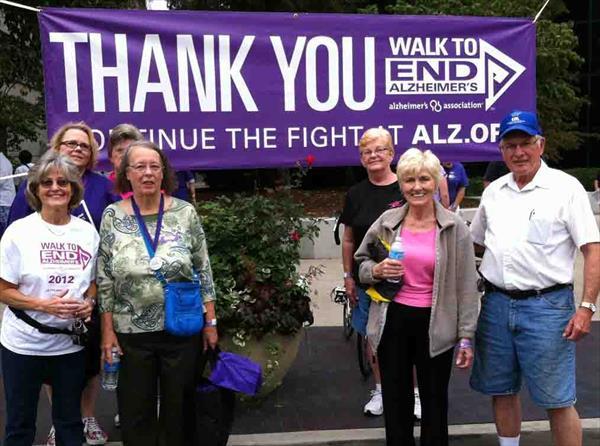 Ch. 97 Alzheimer's Walk Participants, Sept. 2013