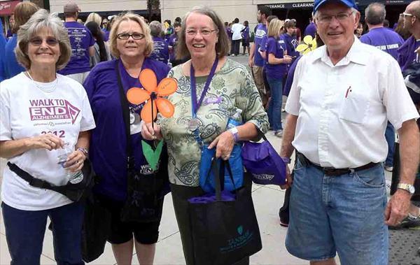 Ch 97 Alzheimer's Walk Participants, Sept. 2013