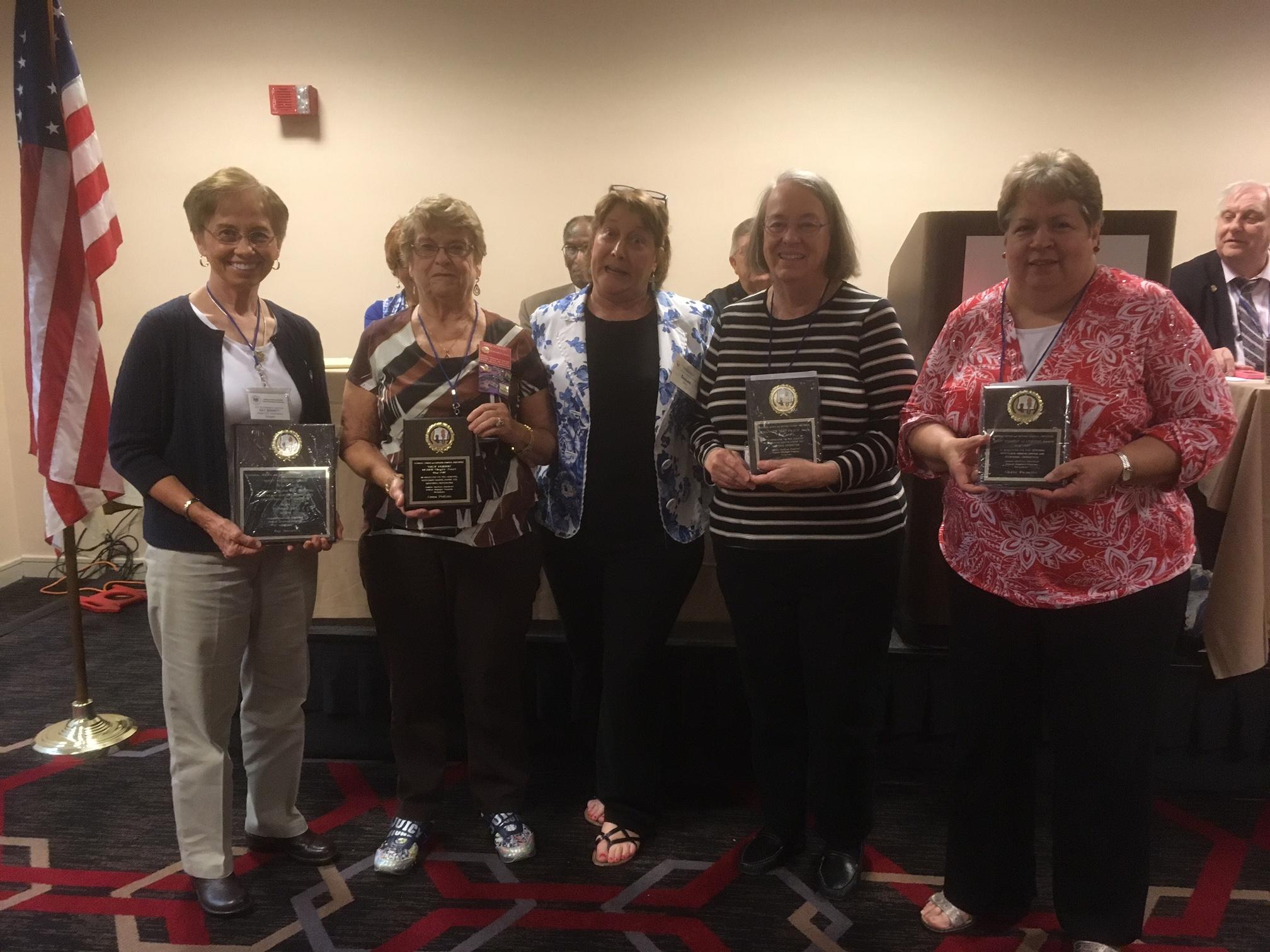 Awardees at Ky Feder'n Conv, Lexington