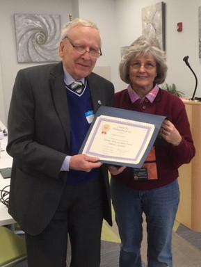 Jim Scott, Certificate for Serv. Offic. by P Bayer