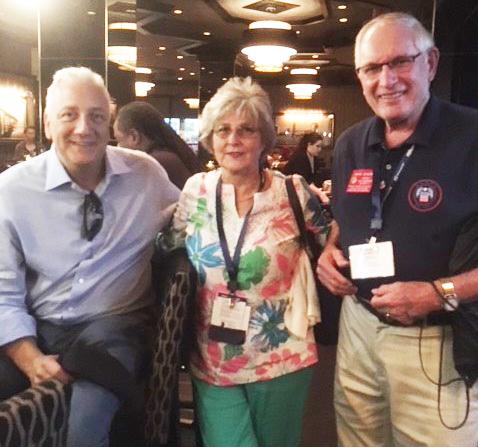 Mike Massino, Paula Bayer, Henry Duncan atFEDcon18