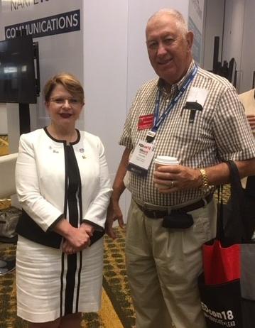 Barbara Sido & Kenneth Overhults at FEDcon18